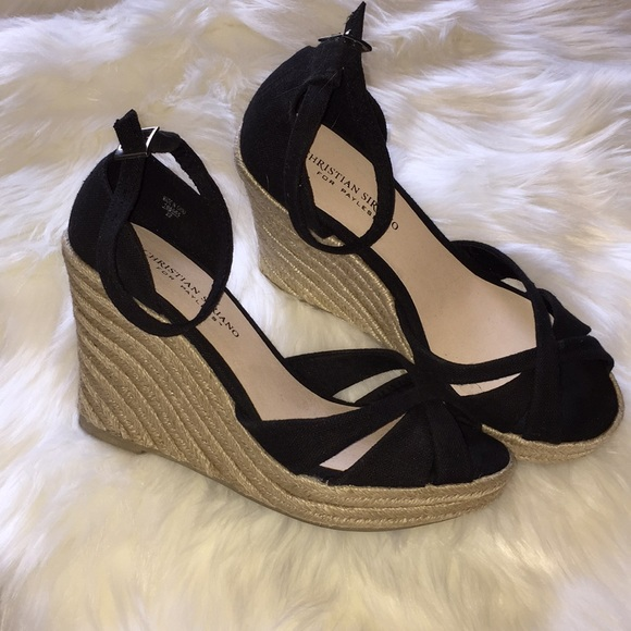 58d27f042 Christian Siriano Shoes - Christian Siriano for Payless Black Wedge Shoes